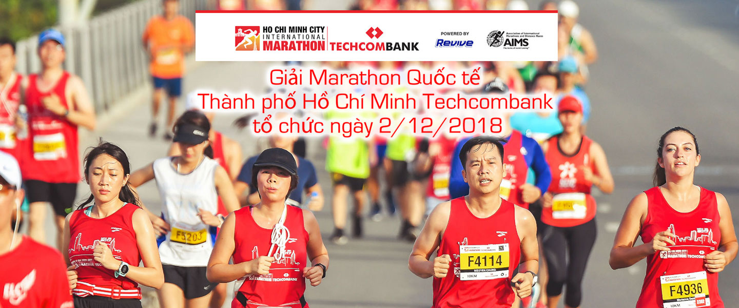 Ho Chi Minh City International Marathon 20182nd Dec 2018 www.marathonhcmc.com