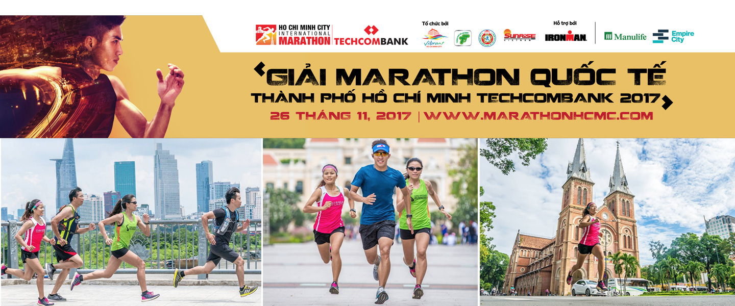 Ho Chi Minh City International Marathon 201726th Nov 2017 www.marathonhcmc.com