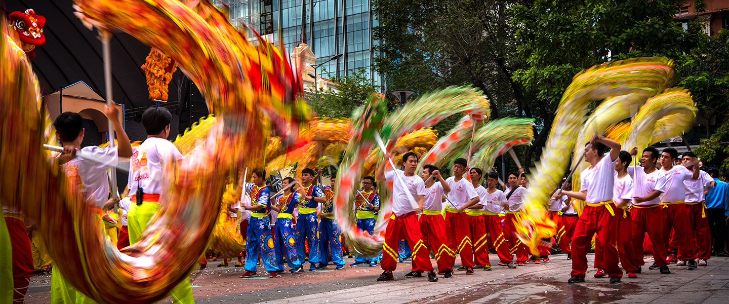 Lion & Dragon Dance Festival - Ho Chi Minh City 2019October 2019